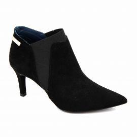 Bottine cuir black t35-t41 17626 Femme XAVIER DANAUD marque pas cher prix dégriffés destockage