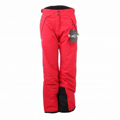 Pantalon ski red 7519 Dryedge Femme MILLET marque pas cher prix dégriffés destockage