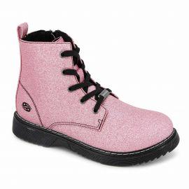 Bottine metalic pink fille t31-t35 43cu704 Enfant DOCKERS marque pas cher prix dégriffés destockage