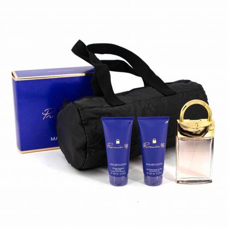 Coffret Prestige Parfum Promise Me Femme MAUBOUSSIN marque pas cher prix dégriffés destockage