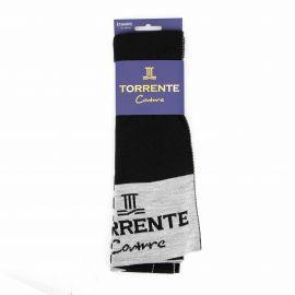 Echarpe jacquard 100% acrylique 05032 Homme TORRENTE marque pas cher prix dégriffés destockage
