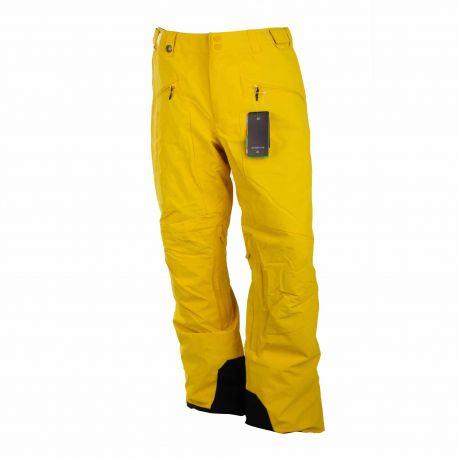 Pantalon de ski 3115 jaune Homme QUIKSILVER marque pas cher prix dégriffés destockage