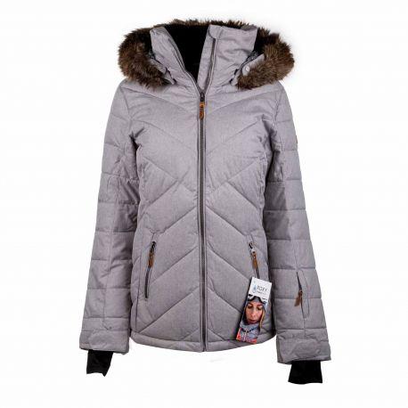Veste de ski 3227 gris Femme ROXY marque pas cher prix dégriffés destockage