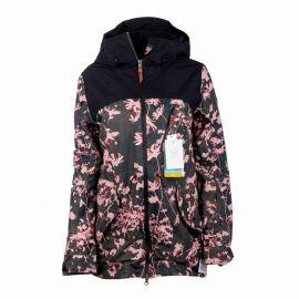 Veste de ski 3225 kaki/rose Femme ROXY marque pas cher prix dégriffés destockage
