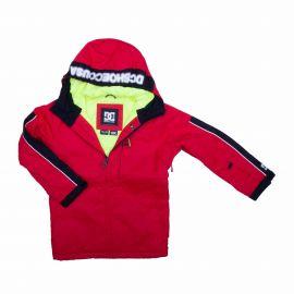 Veste ski 3028 rouge Enfant DC SHOES marque pas cher prix dégriffés destockage