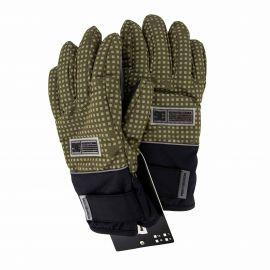 Gants de ski 3045 vert Homme DC SHOES marque pas cher prix dégriffés destockage