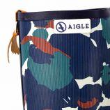 Bottes caoutchouc camouflage 847004 Femme AIGLE marque pas cher prix dégriffés destockage