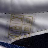 Baskets cuir dark blue corsa-327-69 t40/45 Homme VESPA marque pas cher prix dégriffés destockage
