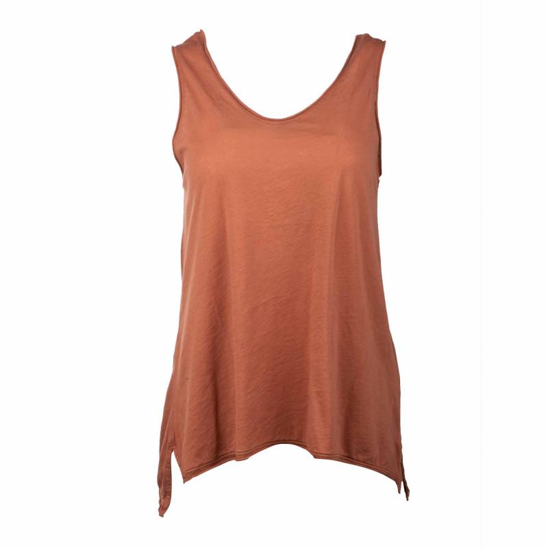 Tee shirt mc Femme AMERICAN VINTAGE marque pas cher prix dégriffés destockage