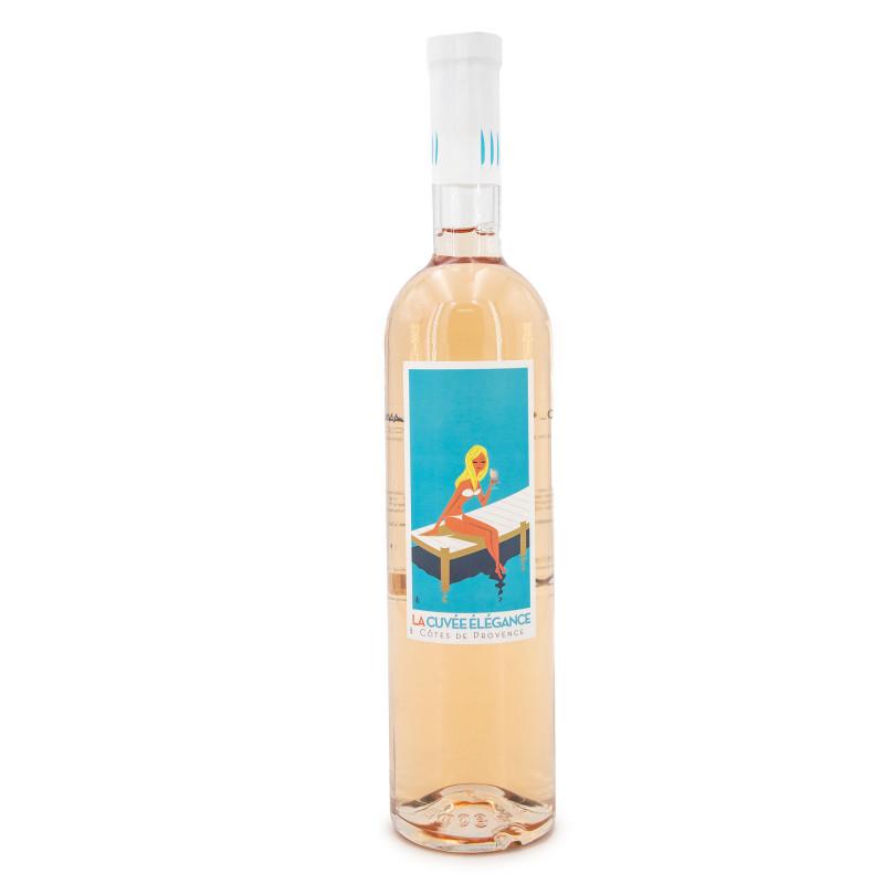 Vin rosé La cuvee élégance 75cl LA CUVEE ELEGANCE