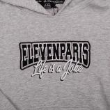 Sweat ml a capuche gelv035hsw de 4 a 14 ans Enfant ELEVEN PARIS marque pas cher prix dégriffés destockage