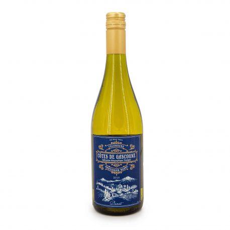 Vin blanc IGP COTES DE GASCOGNE BLANC2018 COLOMBARD SAUVIGNON 11.5% 75CL