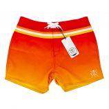Maillot de bain Boardshort red/orange cooll 5057 Homme WATTS marque pas cher prix dégriffés destockage