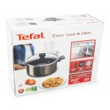Faitout Easy Cook & Clean avec couvercle 24cm TEFAL marque pas cher prix dégriffés destockage