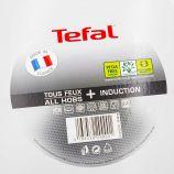 Poêle blanche poignée fixe induction 28cm TEFAL marque pas cher prix dégriffés destockage