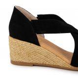Sandales compensees ante negro 517/5 t36/41 Femme PINAZ