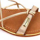 Sandales tan/or c12906hirondel t36/40 Femme LES TROPEZIENNES PAR M.BELARBI marque pas cher prix dégriffés destockage