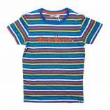 Tee shirt manches courtes à rayures coton Enfant LITTLE MARCEL