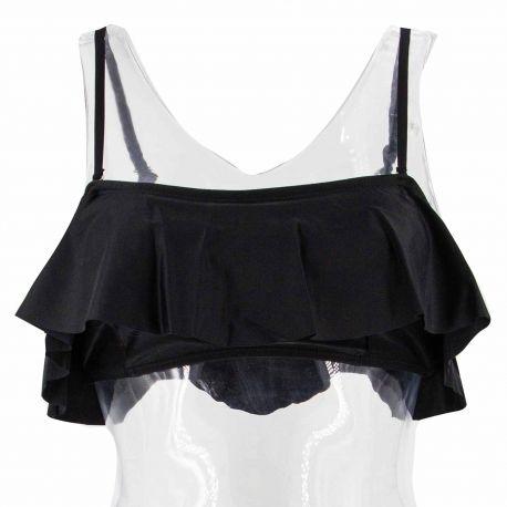 Haut de maillot à volants bretelles amovibles Femme VERO MODA marque pas cher prix dégriffés destockage