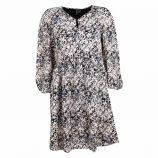 Robe manches longues black/martina 10250631 Femme VERO MODA