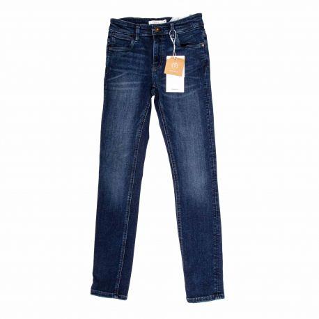 Jeans bleu fonce 13180595 Enfant NAME IT