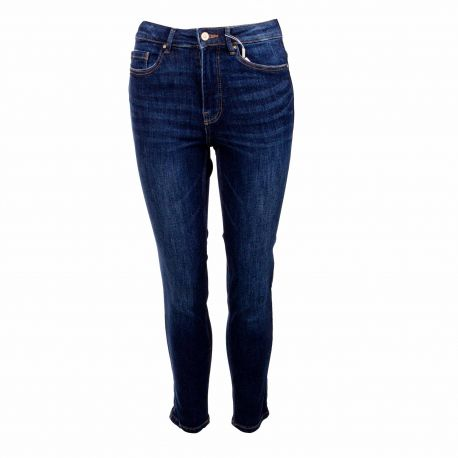 Jeans dark blue 17106401 Femme PIECES
