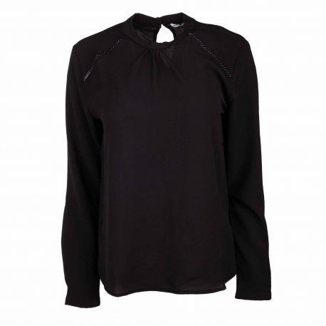 T-shirt ml noir 15170784 Femme ONLY