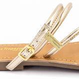 Sandales cuir léger imprimé Distak Femme LES TROPEZIENNES PAR M.BELARBI