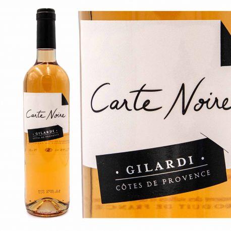 Vin rosé AOP Côtes de Provence 75cl Carte noire