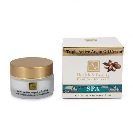 Creme visage huile d'argan (50ml) ar02076 Femme HEALTH & BEAUTY marque pas cher prix dégriffés destockage