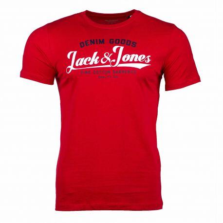 Tee-shirt mc 12172368 Homme JACK & JONES marque pas cher prix dégriffés destockage