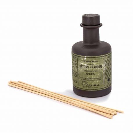 Bâtons à parfum Patchouli 200ml LOTHANTIQUE marque pas cher prix dégriffés destockage