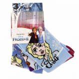 Lot de 3 paires de chaussettes Elsa Frozen II Enfant DISNEY