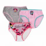 Lot de 3 culottes imprimé en coton Minnie Enfant DISNEY