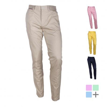 Pantalon chino mw0mw13299 Homme TOMMY HILFIGER marque pas cher prix dégriffés destockage