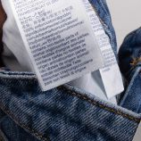 Jeans straight ww0ww25125 Femme TOMMY HILFIGER marque pas cher prix dégriffés destockage
