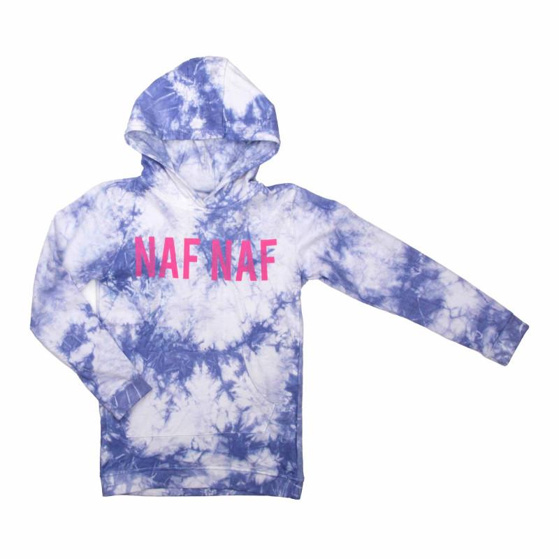 Robe sweat capuche 753066 3-14 ans Enfant, Bébé NAF NAF marque pas cher prix dégriffés destockage