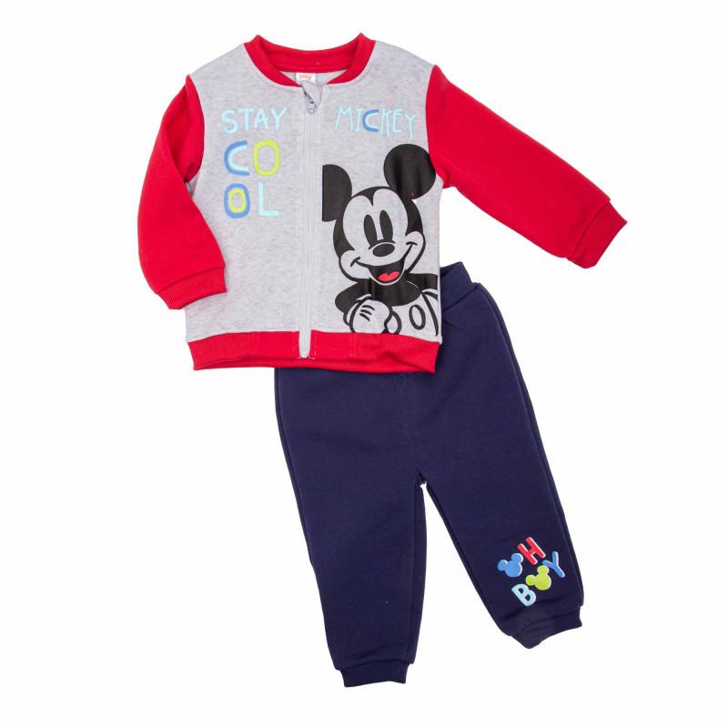 Ensemble jogging mickey bebe 3 a 24 mois dis bmb 51129557 Bébé DISNEY marque pas cher prix dégriffés destockage