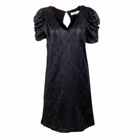 Robe mc kyara or/noir Femme LA PETITE ETOILE marque pas cher prix dégriffés destockage