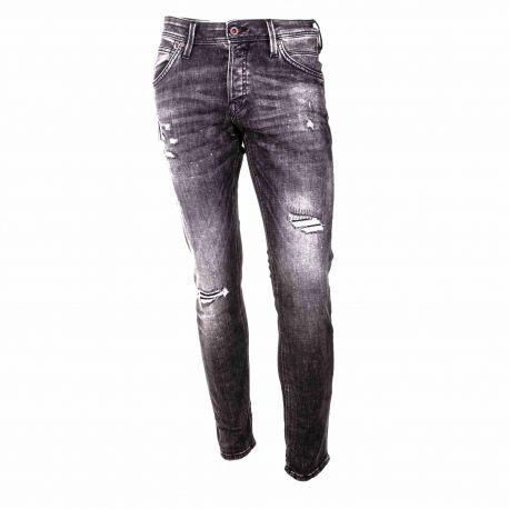 Jeans jjiglenn jjfox 12185919 Homme JACK & JONES marque pas cher prix dégriffés destockage