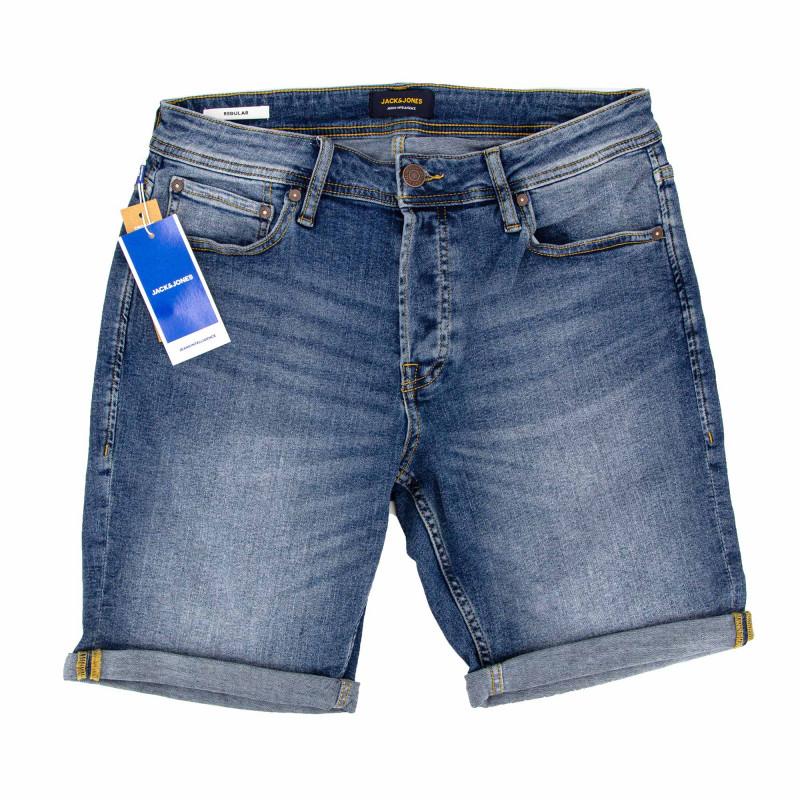 Bermuda jeans jjirick jjoriginal 12185753 Homme JACK & JONES marque pas cher prix dégriffés destockage