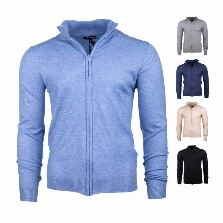 Gilet precieux full zip ml coudiere Homme TED LAPIDUS