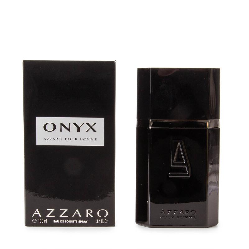 Parfum Eau de Toilette Onyx 100ml Homme AZZARO marque pas cher prix dégriffés destockage
