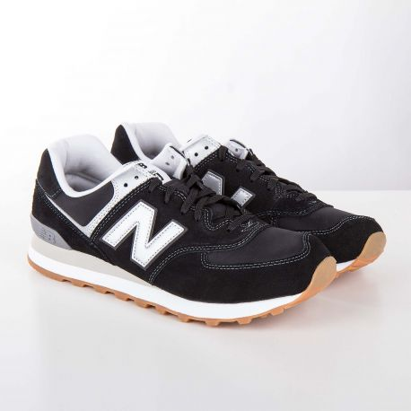 Baskets sneakers ML574HRM noir homme NEW BALANCE