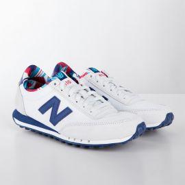 Baskets sneakers WL410CPD blanc & bleu femme NEW BALANCE marque pas cher prix dégriffés destockage