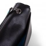 Sac bandoulière simili cuir noir / or femme CHRISTIAN LACROIX marque pas cher prix dégriffés destockage