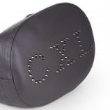 Sac cuir gris motif fleurs Femme CHRISTIAN LACROIX marque pas cher prix dégriffés destockage