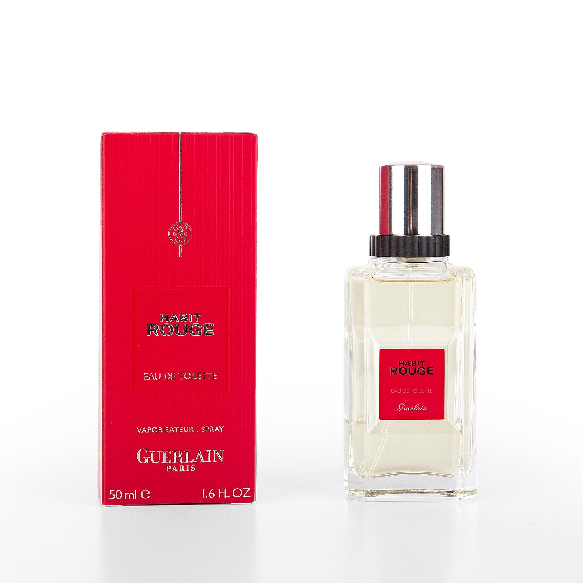 Parfum Eau De Toilette 50 Ml Homme Habit Rouge Guerlain à Prix