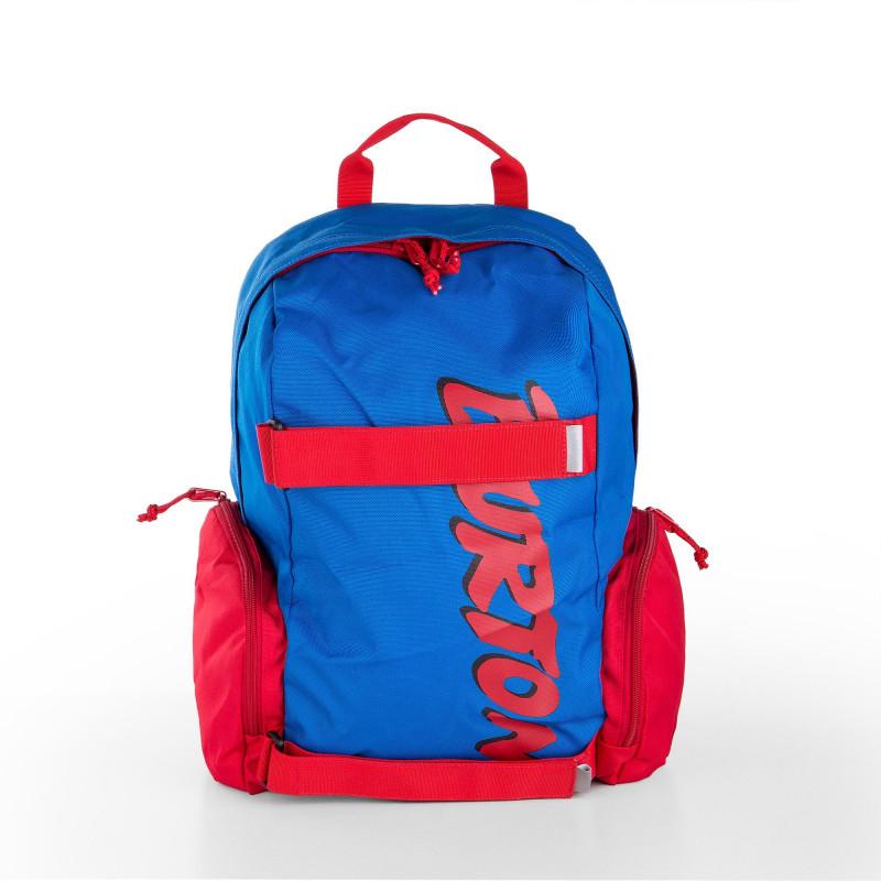 Sac à dos bleu et rouge Enfant BURTON marque pas cher prix dégriffés destockage