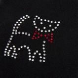 Lot de 3 paires de chaussettes fantaisie noires femme AZERTEX marque pas cher prix dégriffés destockage
